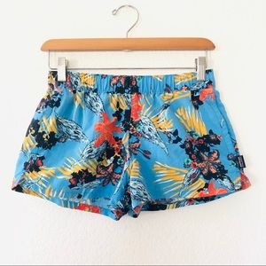 Patagonia Barely Baggies Floral Tropical Beach